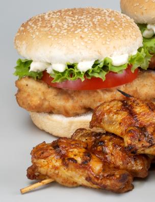 Chicken Schnitzel Burgers