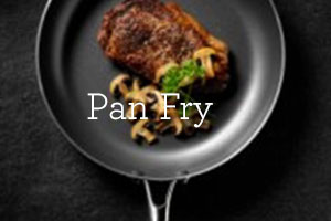 pan fry cooking